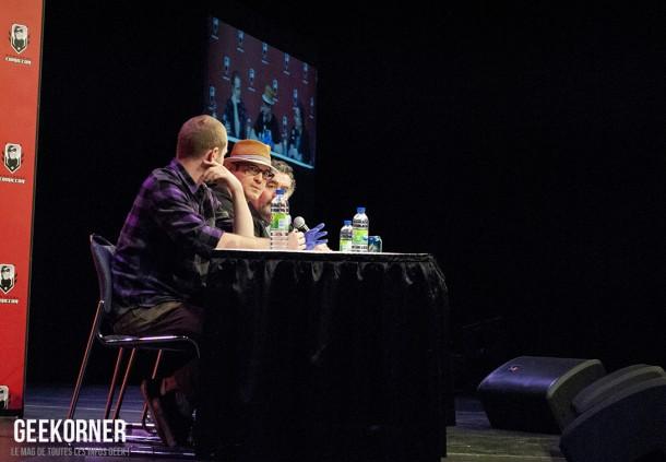 Warehouse 13 - Eddie McClintock - Saul Rubinek - Aaron Ashmore - Comiccon Montréal 2012 - Geekorner - 024