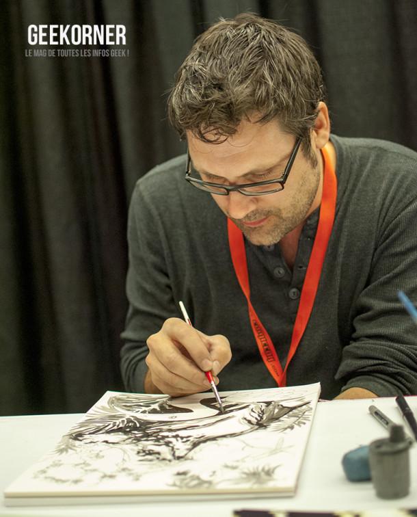 Yanick Paquette - Comiccon Montréal 2012 - Geekorner - 002