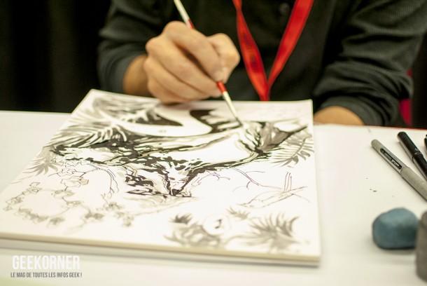 Yanick Paquette - Comiccon Montréal 2012 - Geekorner - 003