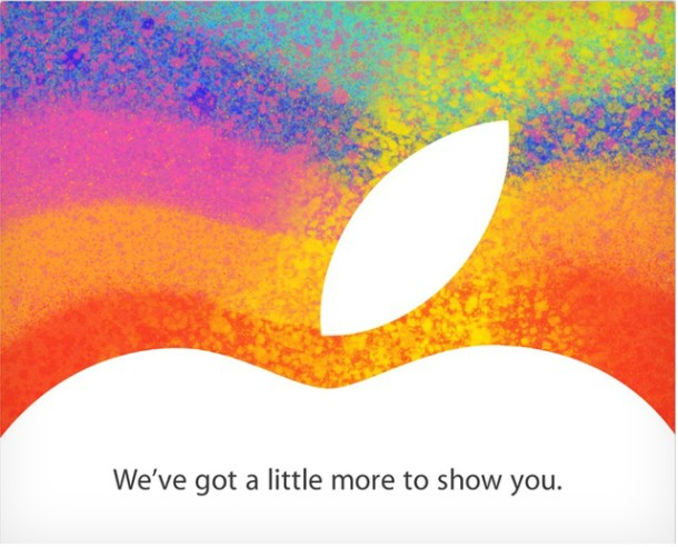 Apple Invitations 23 Octobre Indice - Geekorner