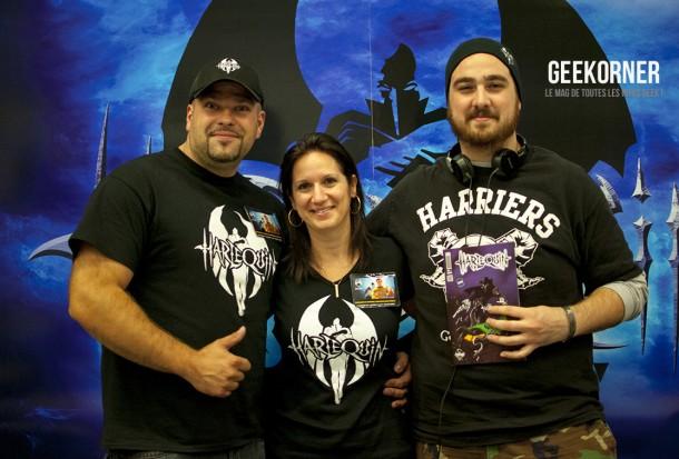 Harlequin - Comiccon Montréal 2012 - Geekorner - 048
