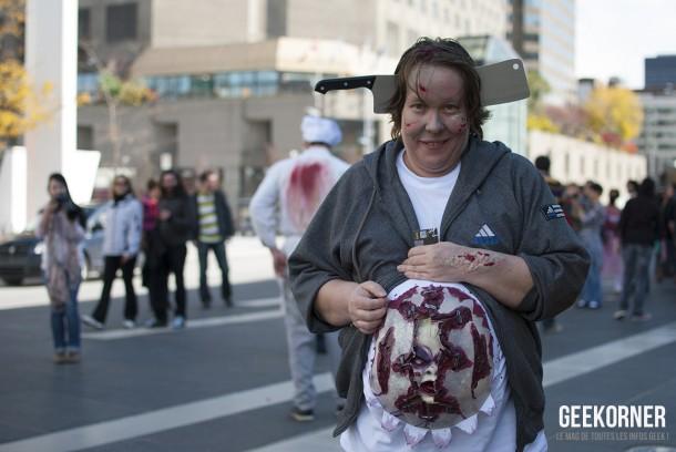 Marche Zombies Walk Montreal 2012 - Geekorner - 020