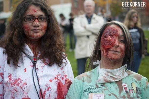 Marche Zombies Walk Montreal 2012 - Geekorner - 125