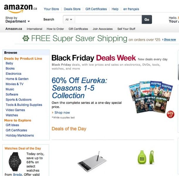 Amazon Black Friday Québec - Geekorner- 2