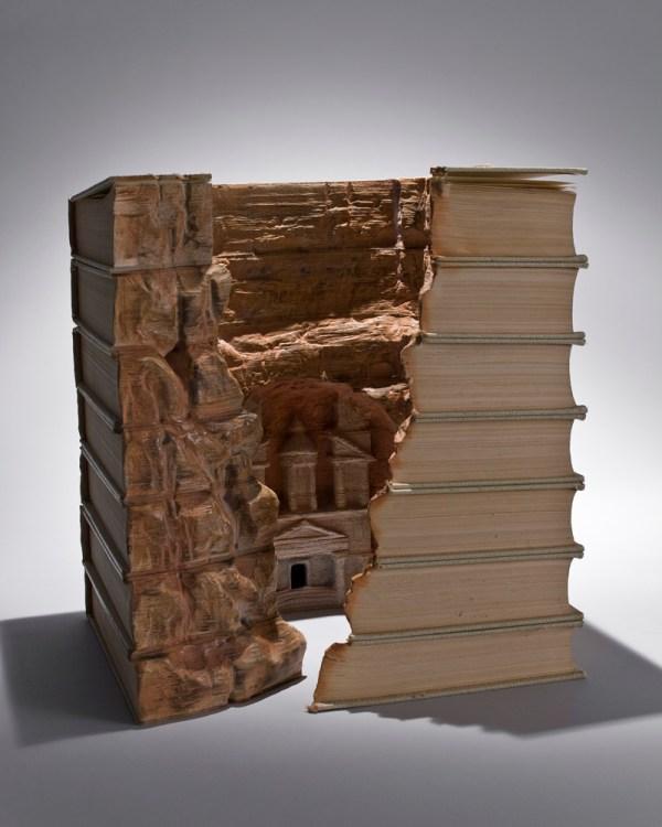 Guy Laramee Book Art