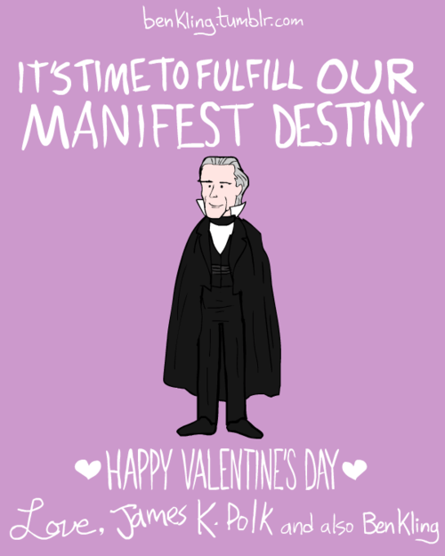 Ben Kling's Historical Valentines Are Pun Tastic The