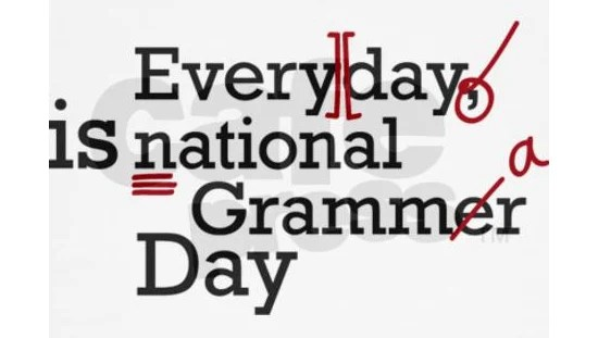 Today In Geek History: In 2008, National Grammar Day