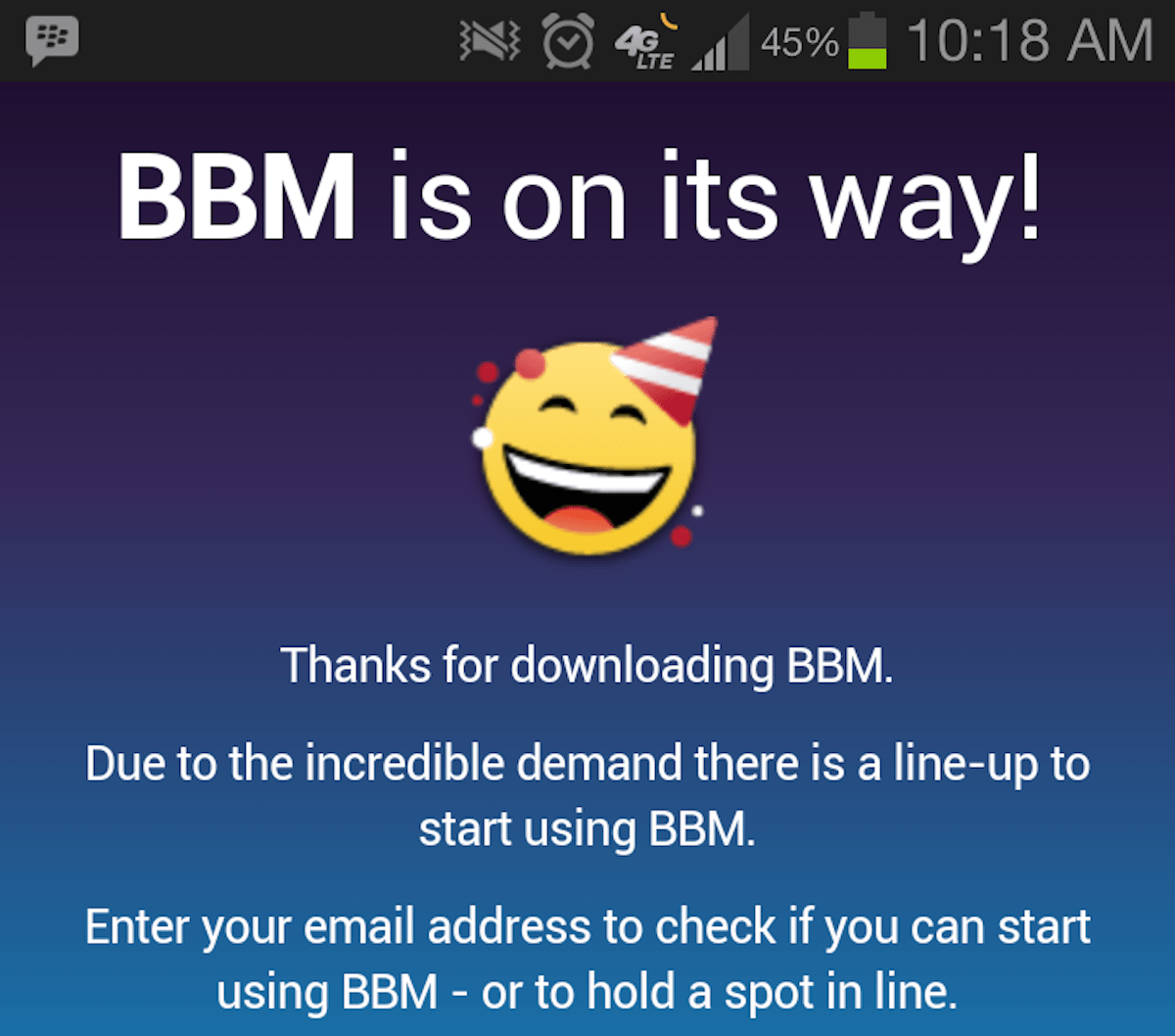Blackberry Messenger Is Available For Ios And Android But