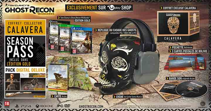 Édition collector Tom Clancy Ghost Recon Wildlands