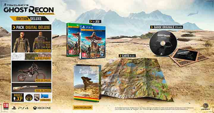 Édition collector Tom Clancy Ghost Recon Wildlands (2)