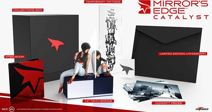 Mirror's Edge Catalyst en édition collector