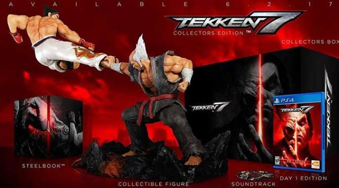 Édition collector Tekken 7 avec une figurine imposante