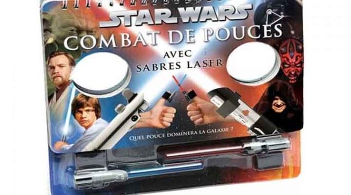 TEST | Combat de pouces au sabre laser
