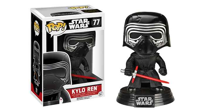 Test | Funko Pop! Kylo Ren, figurine 77