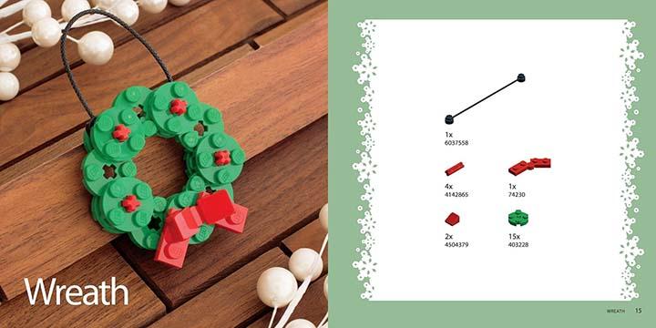 Faites vos propres ornements de Noël à l'aide de Lego