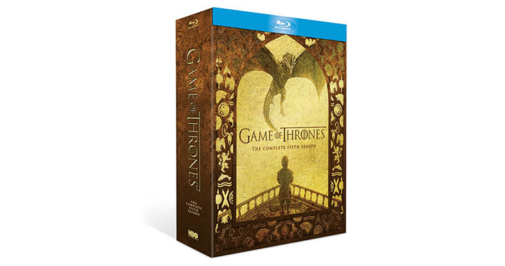Game of Thrones Saison 5 en Blu-ray et DVD