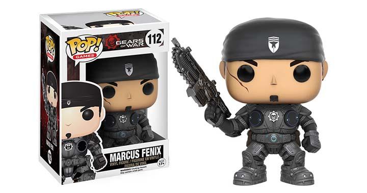 Gears of War, les nouvelles figurines Funko