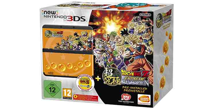 Console New Nintendo 3DS Dragon Ball Z