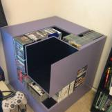 meuble game cube