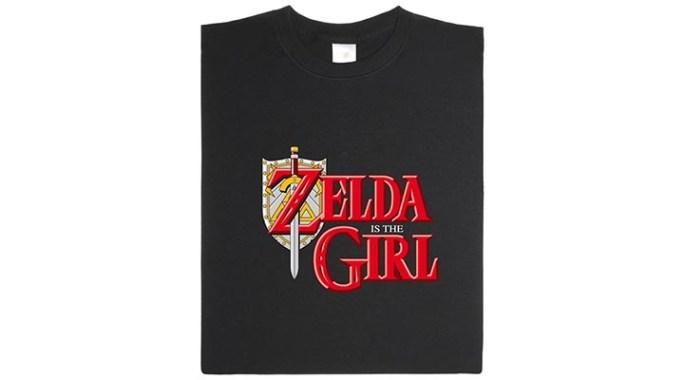 [T-Shirt] Zelda c'est la fille