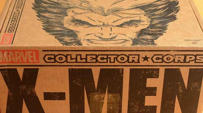 Abonnement Marvel Collector Corps X-Men