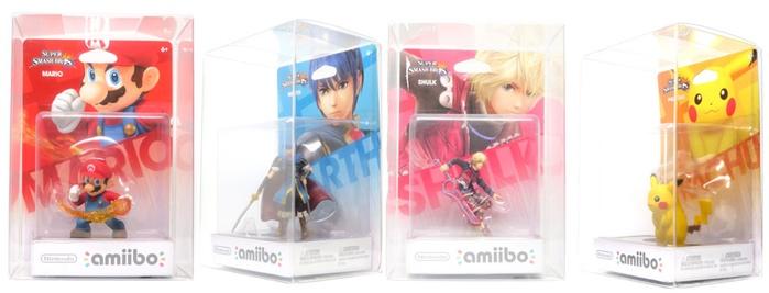 Des boites en plastique pour protéger vos Amiibos