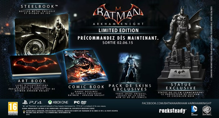 Trailer officiel du jeu Batman Arkham Knight