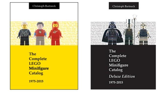 Le catalogue de figurines Lego de 1975 à 2015