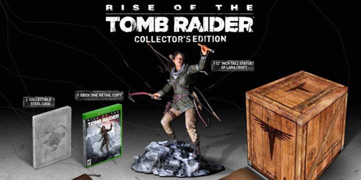 Edition Collector Rise of the Tomb Raider bien gonflé