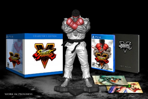 collector Street Fighter V 1