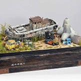 diorama Satoshi Araki geek batman tokyo modele reduit (1)-w640-h420