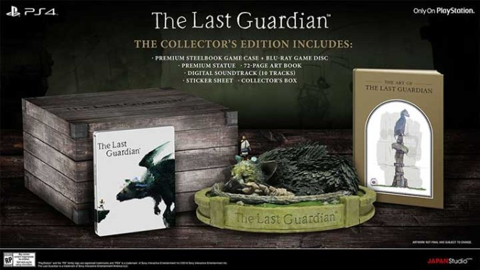 Edition Collector The Last Guardian