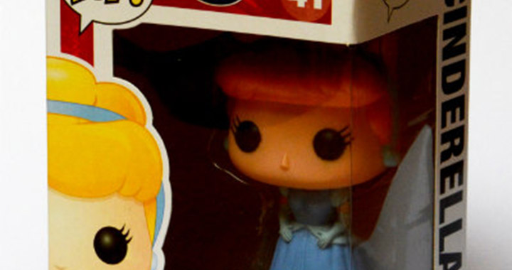 Test | Figurine Funko Cendrillon de Disney