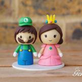 gateau mariage geek batman cake topper ironman wolverine marvel dc star wars mario jeux vidéo (1)