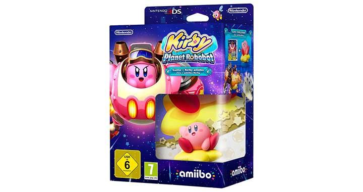 Nouveau Kirby Amiibo plus le jeu