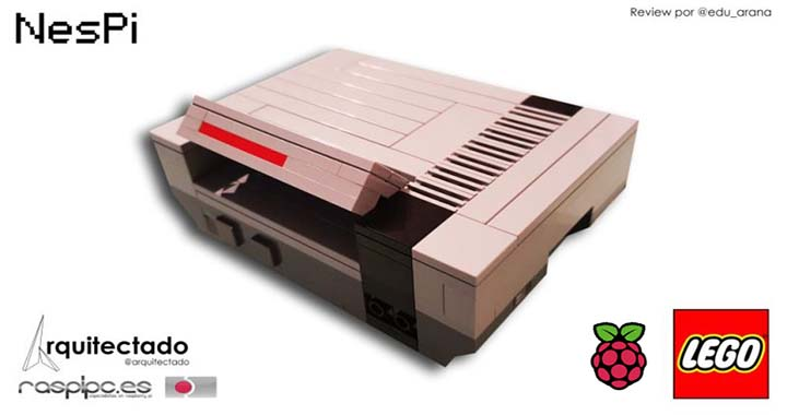 kit NES Lego raspberry