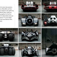 livre Batmobile age batman superman