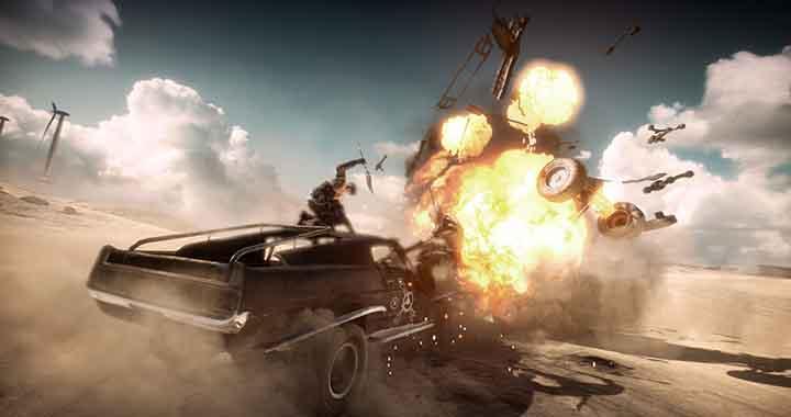 Le jeu video Mad Max est sortit aujourd'hui