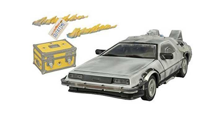DeLorean de Retour vers le Futur givré
