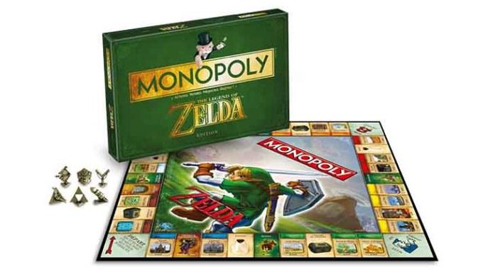 Le Monopoly Zelda est pas mal lui aussi