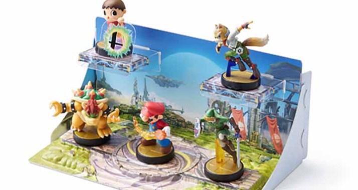 Des présentoirs décorés pour vos Amiibo