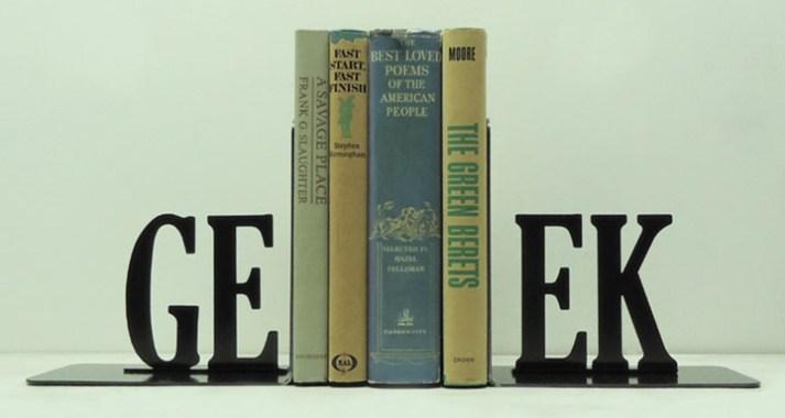Top des serre-livres Geek pour tout les goûts