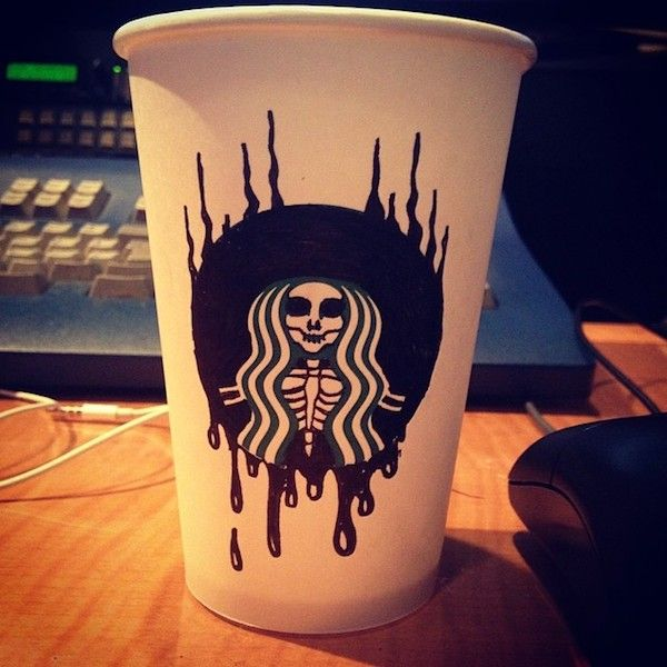 stabucks dessins super héros gobelets (6)