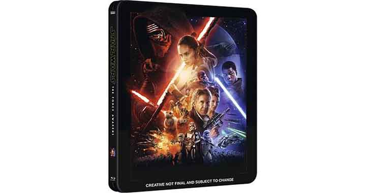 Star Wars 7 en édition Steelbook