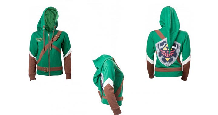 Sweat Link Legend of Zelda pour femme