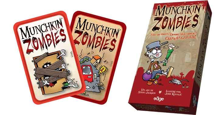 [Test] Munchkin Zombies, le jeu de société