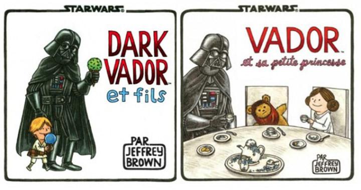 Les livres Dark Vador et ses enfants