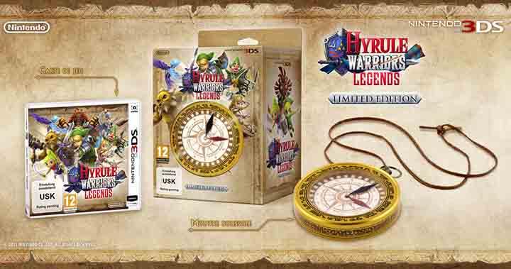 Edition limitée d'Hyrule Warriors: Legends