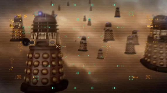 It's a Murder of Daleks