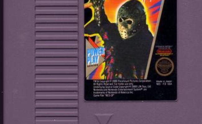 10 Original Nes Games Based On Horror Movies Geekpr0n